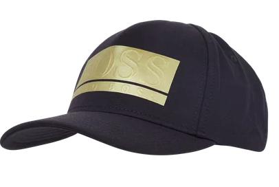 Boss Cap mit Logo in Blau für 20€ inkl. Versand (statt 45€)