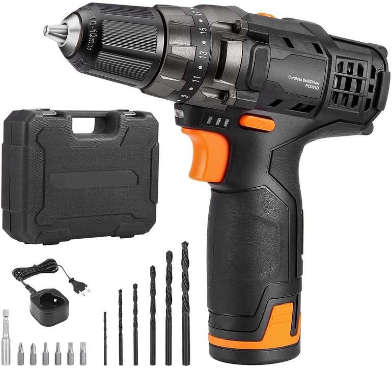 T-tool 12V Akkuschrauber (2000mAh Akku, 27nM) für 29,99€ inkl. Versand (statt 70€)