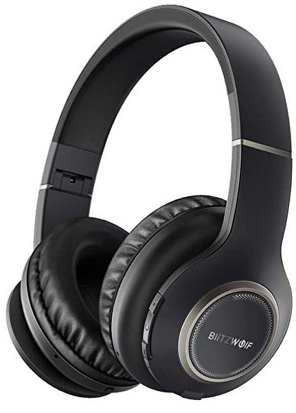 BlitzWolf Bluetooth Over-Ear Kopfhörer (20h Spielzeit) für 17,49€ inkl. Prime
