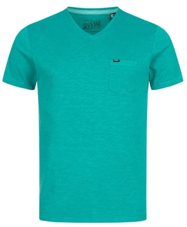 O'Neill Jacks Base Crew Herren T-Shirt in türkis oder orange für 10,61€ (statt 18€) - Restgrößen!