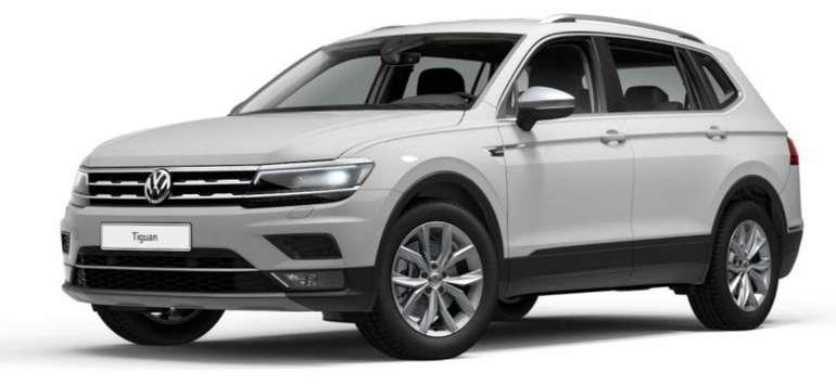 Gewerbe-Leasing: VW Tiguan Allspace Highline mit 239 PS für 283,22€ mtl. brutto