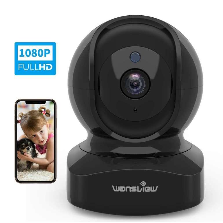 Wansview 1080P WLAN IP Überwachungskamera für 23,99€ inkl. Versand