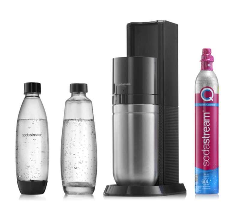 SodaStream Duo Titan Wassersprudler inkl. 1 Zylinder für 83,99€ inkl. Versand (statt 100€)