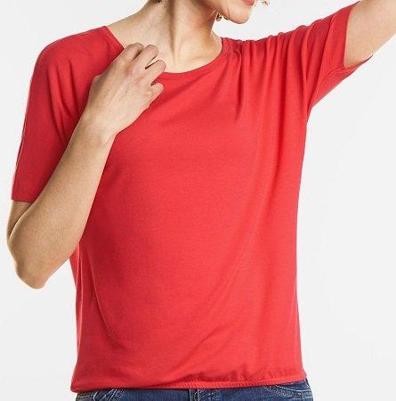 20% Rabatt auf alles bei Street-One, z.B. Shirt Gunja in rot für 7,20€