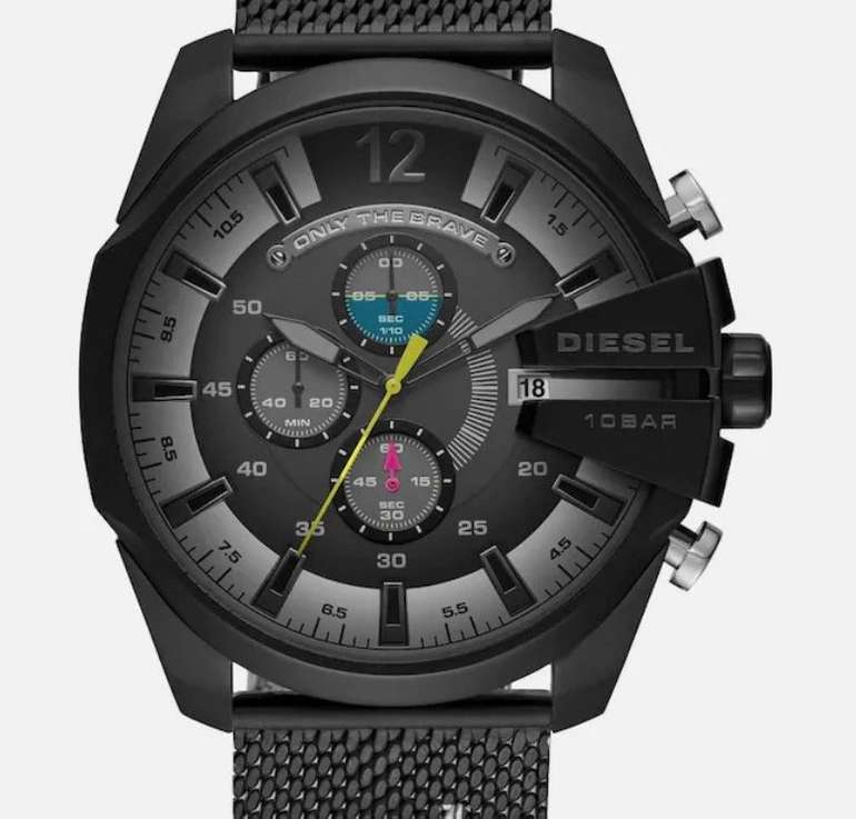 About You Premium Marken Sale + 25% Extra-Rabatt - z.B. Diesel Mega Chief DZ4514 Chronograph für 167,40€