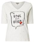Street One Shirt mit Glitter und Pailletten für 9,99€ inkl. VSK (statt 15€)