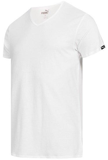 2er Pack Puma Basic V-Neck Herren T-Shirts