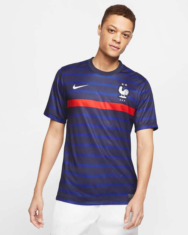 Nike Frankreich Jersey (Heim oder Auswärts) für 47,23€inkl. Versand (statt 64€)