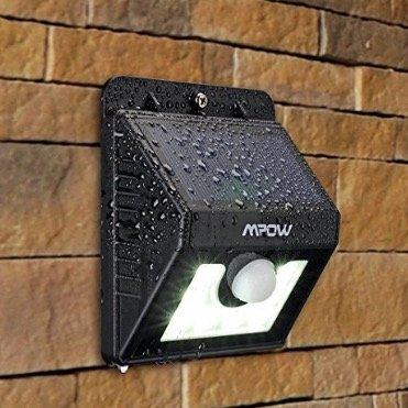 40% Rabatt auf Mpow LED-Solarleuchten mit Bewegungsmelder z.B. Leuchte für 8,39€