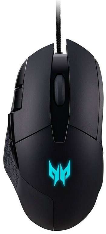 Acer Predator Cestus 315 Gaming Maus (6.500 DPI, 6 Tasten, 1 ms RS, RGB) für 26,99€ inkl. Prime Versand (statt 38€)