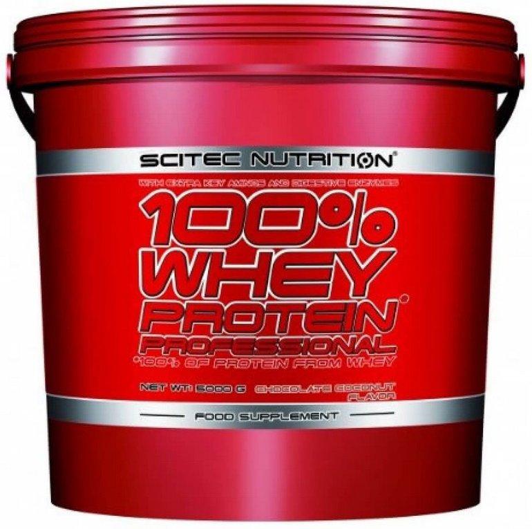 5kg Scitec Nutrition - 100% Whey Protein Professional zu 63,74€ (statt 71€)