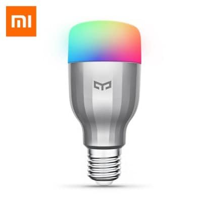 Yeelight RGBW E27 Smart LED Bulb für 13,94€ inkl. Versand - EU Warenlager