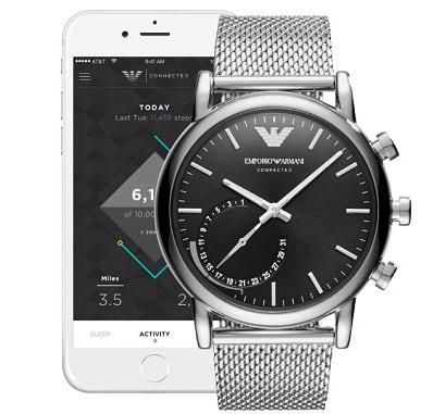 Emporio Armani ART3007 Connected Edelstahl Smartwatch für 150,99€ inkl. Versand
