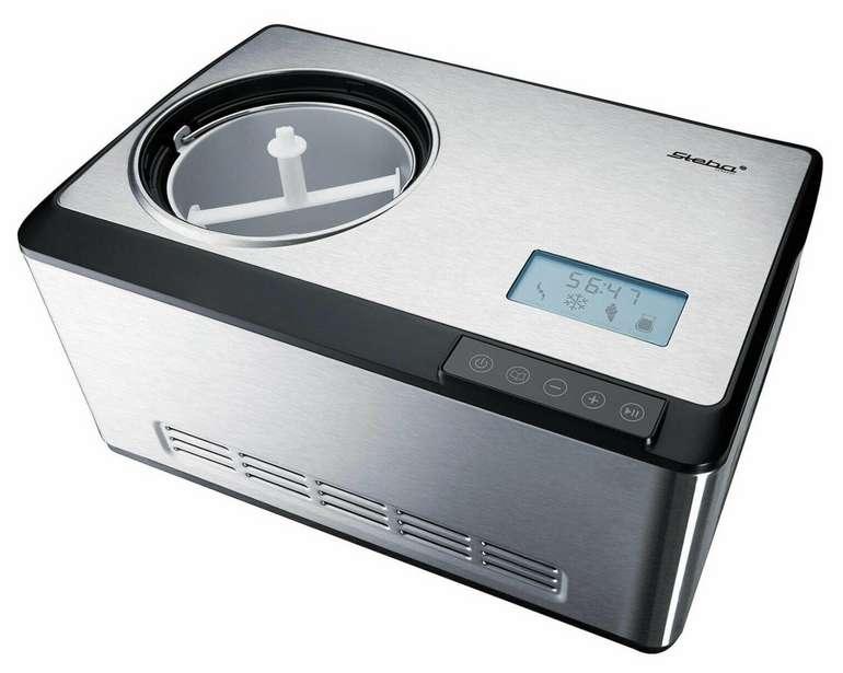 Steba IC 180 Eismaschine aus Edelstahl für 246,90€inkl. Versand (statt 279€)