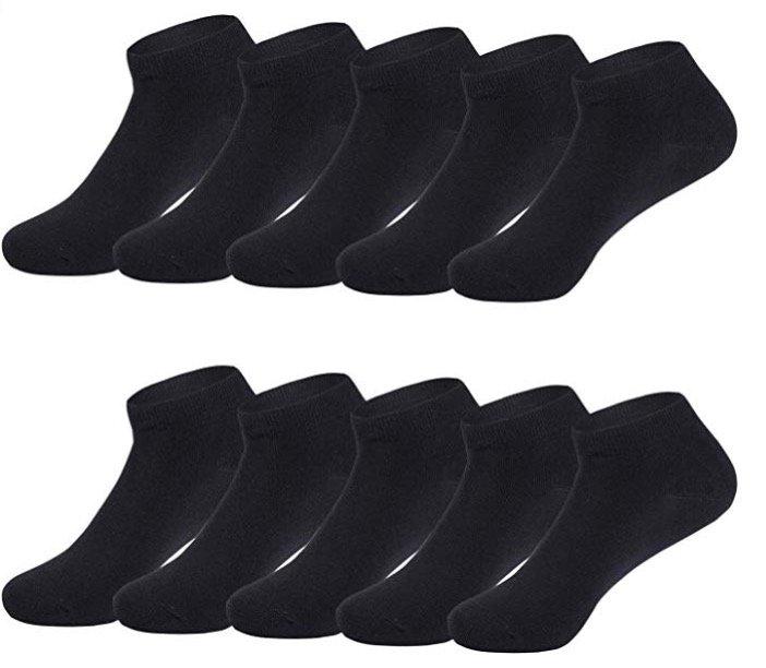 10er Pack Tuuhaw Unisex Sneaker Socken in verschiedenen Farben für je 8,49€ (Prime)