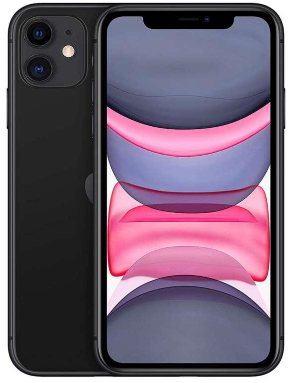 Apple iPhone 11 mit 64GB Speicher in schwarz für 576,31€ inkl. Versand (statt 627€)