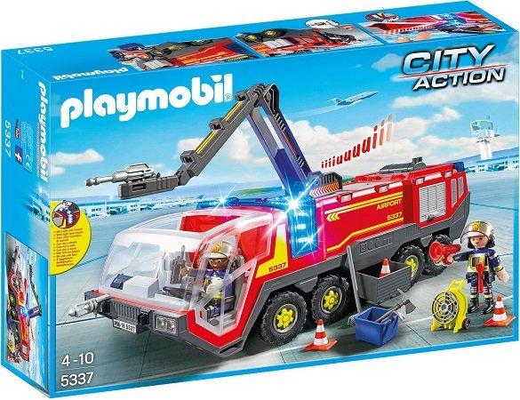 Playmobil City Action - Flughafenlöschfahrzeug mit Licht & Sound (5337) für 38€