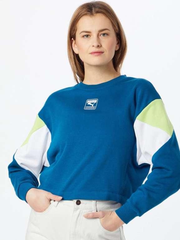 Puma Damen Sweatshirt Rebel Crew für 26,90€ inkl. Versand (statt 44€)