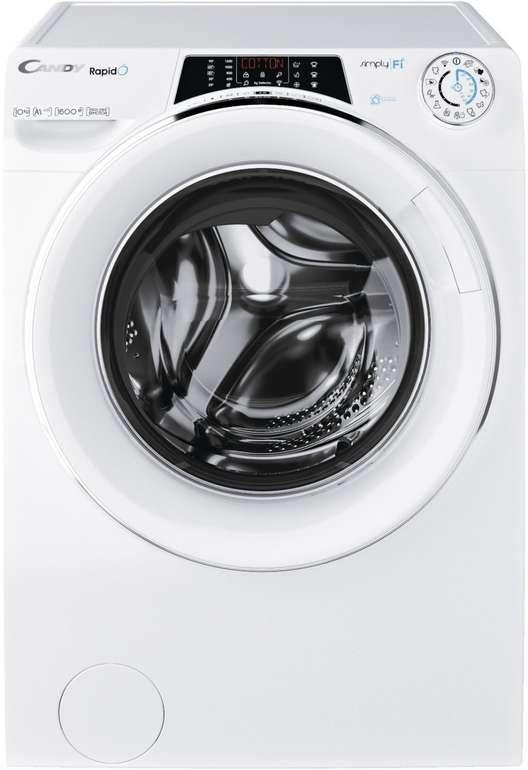 Candy RO 16106DWHC7/1-S Rapid'O Waschmaschine (10 kg, 1600 U/Min., A+++) für 309,90€ inkl. Versand (statt 470€)