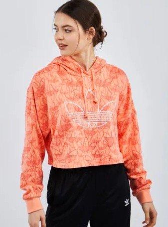 """Adidas """"Fakten"""" Damen Cropped Hoodie für 29,99€ (statt 45€)"""