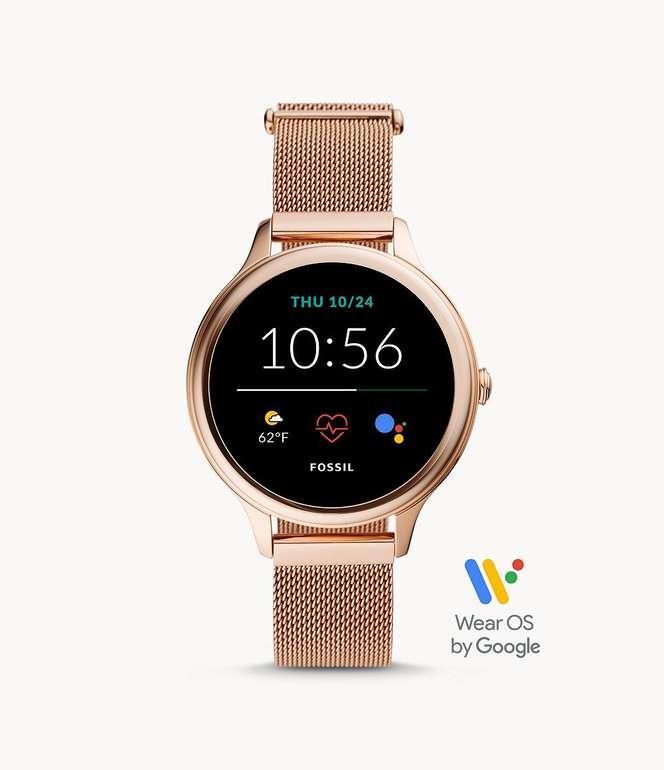 Fossil Gen5E Smartwatch Edelstahl roségoldfarben für 160,30€ inkl. Versand (statt 180€)