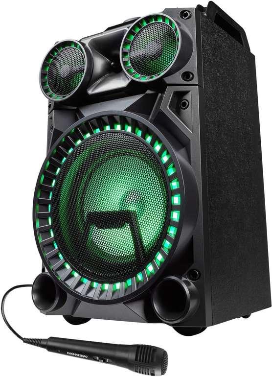 Medion Life X64030 Bluetooth Partylautsprecher mit Drum Pads & Mikrofon für 82,94€ inkl. Versand (statt 126€)