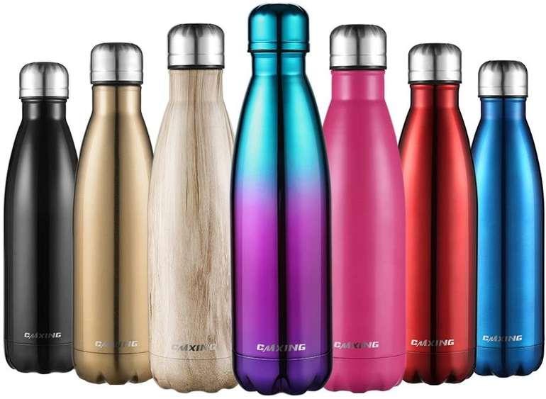Cmxing Doppelwandige Thermosflasche 500ml/750ml ab 6,59€ inkl. Prime Versand (statt 11€)