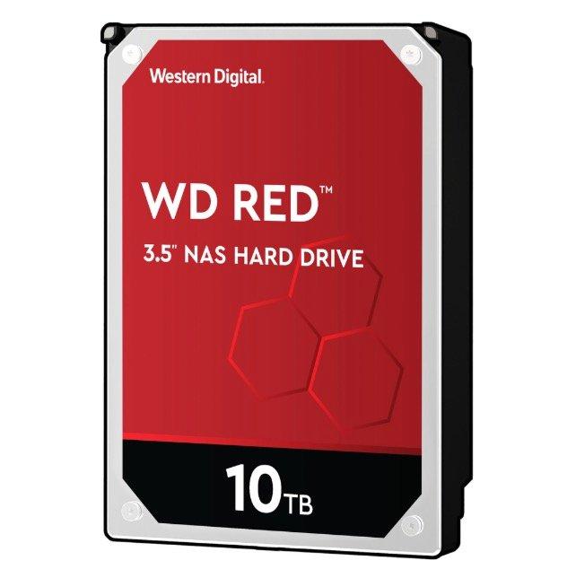 Western Digital Red SATA III 10TB HDD (WD100EFAX) für 229,95€ inkl. Versand (statt 315€)