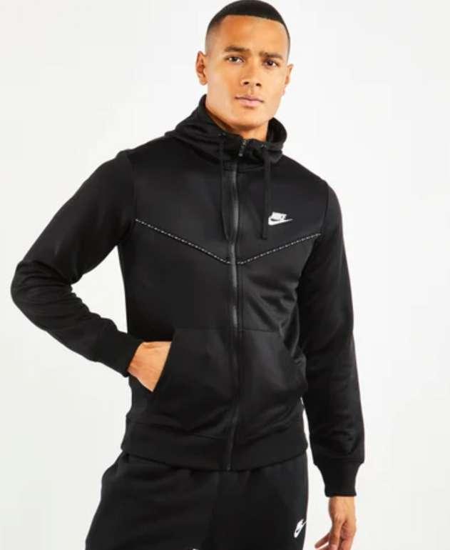 Nike Repeat Poly Full Zip Herren Hoodie in schwarz für 29,99€ inkl. Versand (statt 40€)