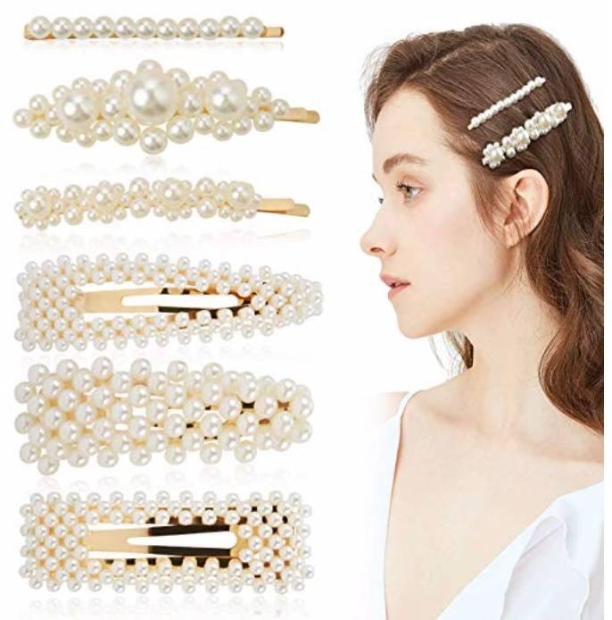 6er Pack Zoylink Künstliche Perlen Haarnadeln für 1,09€ inkl. Prime (statt 7,50€)