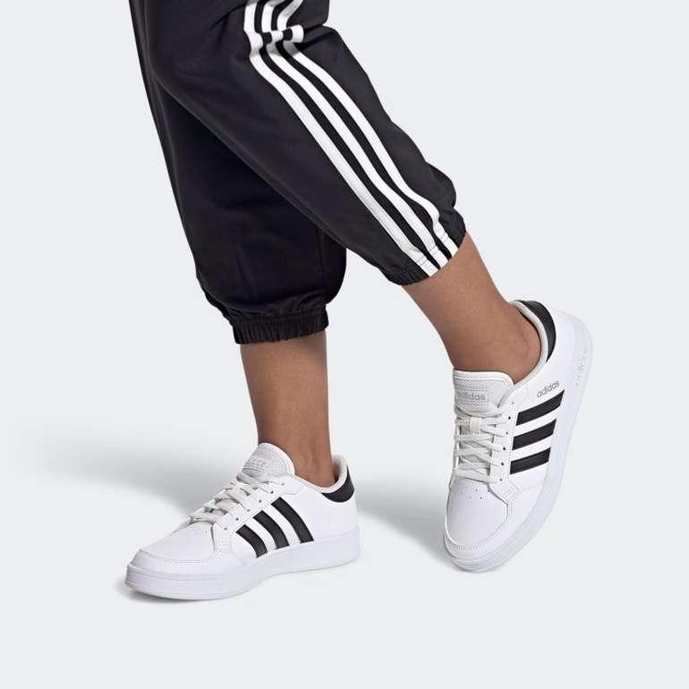 Adidas Breaknet Sneaker in Schwarz/Weiß & Rosa/Weiß für 38,50€ inkl. Versand (statt 44€)