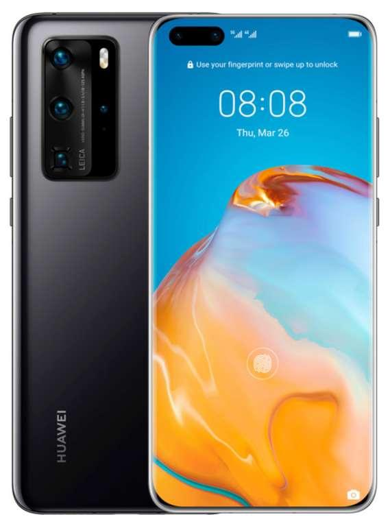 Huawei P40 Pro DualSim in schwarz (256GB 5G LTE) für 579€ inkl. Versand (statt 650€)