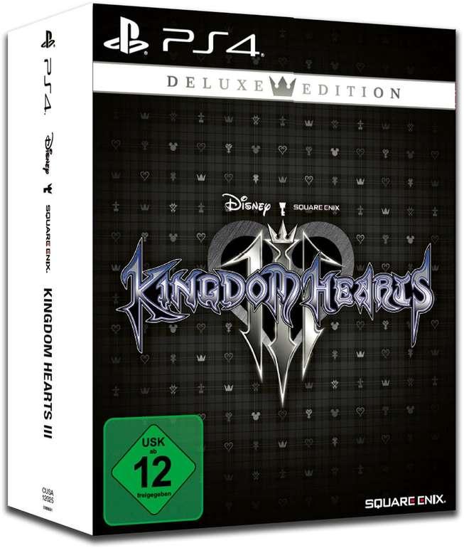 Kingdom Hearts III Deluxe Edition (PS4) für 33,85€ inkl. Versand (statt 45€)