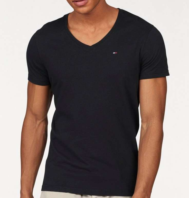 Tommy Jeans V-Neck T-Shirts für je 20,54€ inkl. Versand (statt 25€)