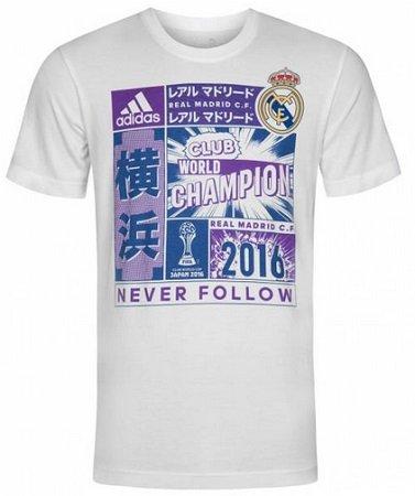 adidas Real Madrid Club World Champion WM 2016 Shirt für nur 1,11€ + VSK