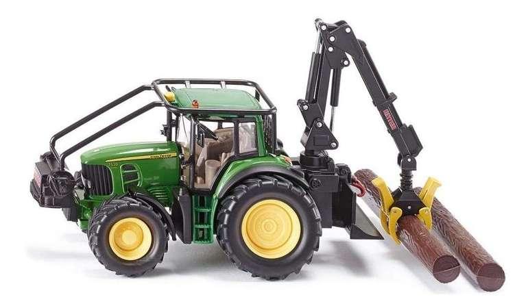 SIKU John Deere Forsttraktor, 1:32 mit Rückzugmotor für 19,50€ (statt 31€) - Abholung!