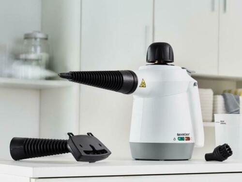 Silvercrest Dampfreiniger (beseitigt 99,99% Bakterien) für 16,11€ (statt 21€) - B-Ware!