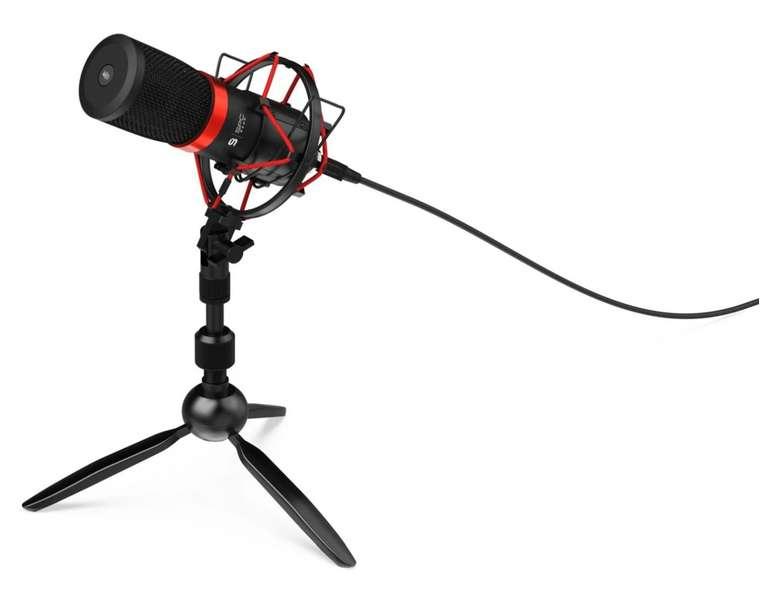 SPC Gear SM950T Streaming USB Microphone für 49,98€ inkl. Versand (statt 77€)