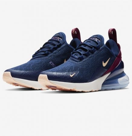 "Nike Air Max 270 Women in ""Blue Void/Crimson Tint"" für 99,99€ (statt 129€)"