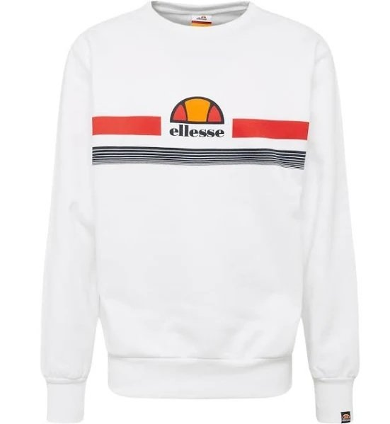 Ellesse Sweatshirts 'ALBACINO' (weiß) für 24,95€ inkl. Versand (statt 40€)