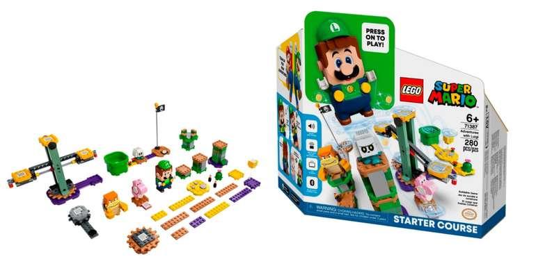 Lego Super Mario Abenteuer mit Luigi (71387) für 34,99€inkl. Versand (statt 47€)