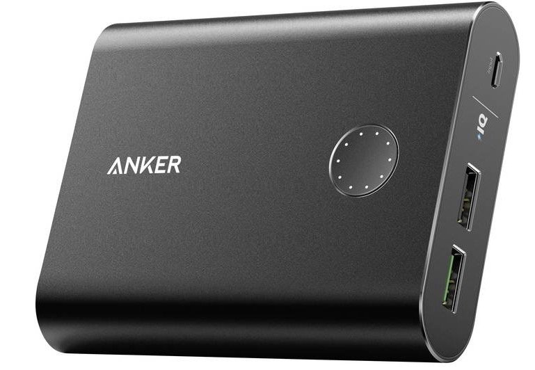 Anker PowerCore+ Powerbank mit 13.400 mAh & Quick Charge 3.0 für 34€