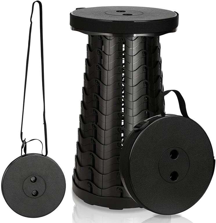 Einfeben tragbare Klapphocker günstiger, z.B. Schwarz (max. 250kg) für 18,19€ (statt 26€)