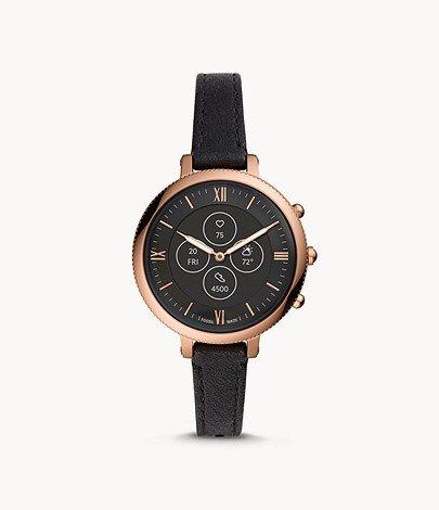 Fossil Hybrid Smartwatch HR Monroe Leder für 139,30€ inkl. Versand (statt 169€)