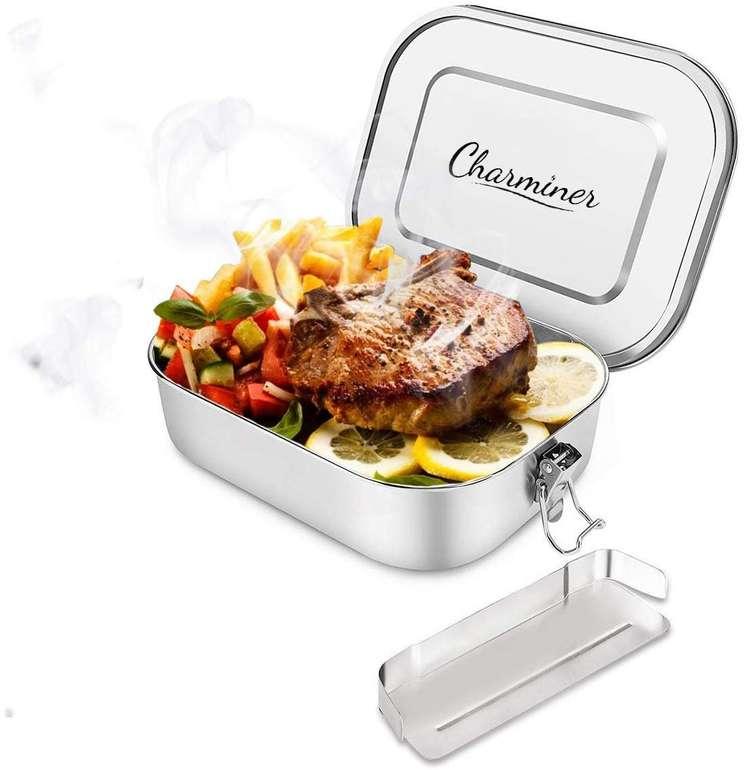 Charminer auslaufsichere Edelstahl Brotdose mit 1,4 Litern Fassungsvermögen für 19,94€ (Prime)
