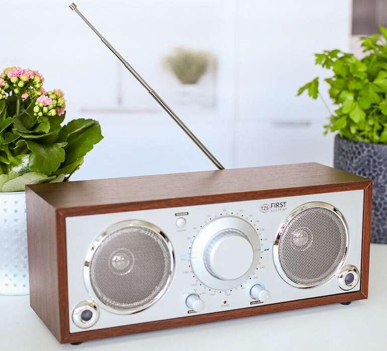 TZS First Austria AM/FM Tischradio im Retro Stil für 25,90€ inkl. Versand (statt 35€)