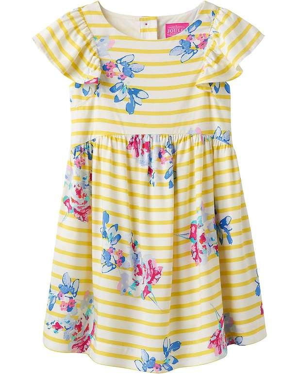 myToys: 20% Extra-Rabatt auf Sommermode, z.B. Tom Joule Kleid Emeline für 24,54€