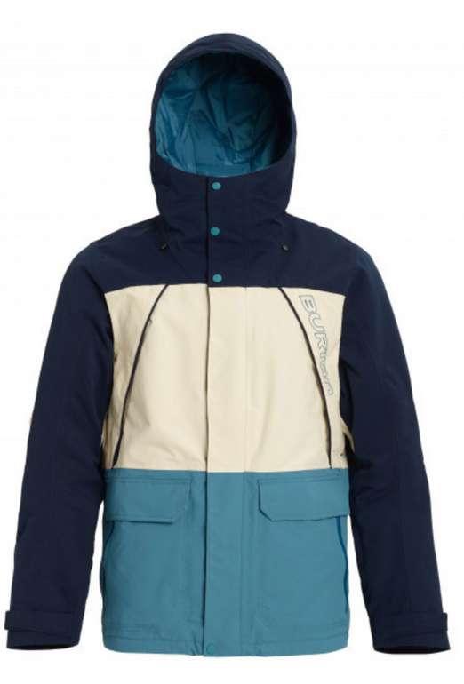 Burton Jacke 'Breach' in hellblau / dunkelblau / weiß für 104,25€ inkl. Versand (statt 150€)