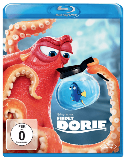 Findet Dorie BluRay für 6€ inkl. Versand (statt 9€)