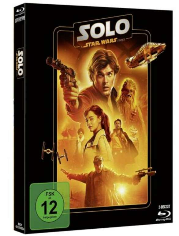 Solo: A Star Wars Story (Blu-ray, 2020) für 6,95€ inkl. Versand (statt 11€)